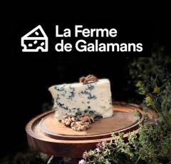 Logo de La ferme de Galamans
