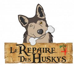Logo de Le Repaire des Huskys