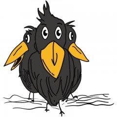 Logo de Les Merles Moqueurs