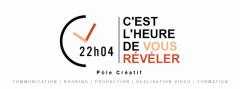 Logo de 22h04   Pôle Créatif